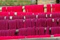 Purple Tissues Deployed, Nepal.