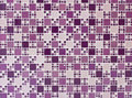 Purple and turquoise mosaic tiles Royalty Free Stock Photo
