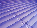 Purple Venetian Blinds Royalty Free Stock Photo