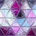 Abstract purple and violet mosaic pattern, continuous background. Royalty Free Stock Photo
