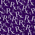 Purple and White Prescription symbol Pattern Repeat Background Royalty Free Stock Photo