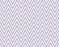 Purple and white zigzag textured fabric repeat pattern backgroun background that is seamless repeats Royalty Free Stock Image