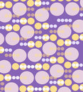 Purple and yellow retro wallpaper Royalty Free Stock Photos