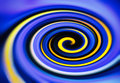 Purple yellow twirl digital abstraction background backdrop Royalty Free Stock Photo
