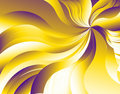 Purple-Yellow-White Vortex Royalty Free Stock Images