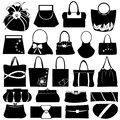 Purse Collage Royalty Free Stock Images
