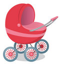 Pushchair Stock Image