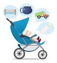 Pushchair Stock Photo