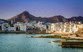 Pushkar city and lake view of the poshkar the hole india Royalty Free Stock Photography