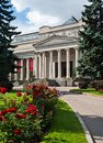Pushkin museum of fine arts in moscow russia Royalty Free Stock Image