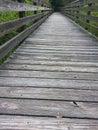 Puszek boardwalk Zdjęcia Stock