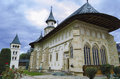 Putna monastery romania bucovina view of suceava Royalty Free Stock Image