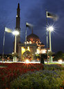 Putra Mosque at Putrajaya Stock Image