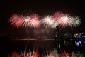Putrajaya international fireworks competition held in malaysia is a annual event Stock Images