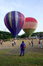 Putrajaya malaysia march tethered hot air balloon rides for visitor at the th putrajaya international hot air balloon fiesta Stock Photos