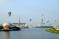 Putrajaya,Malaysia - March 12, 2015 : 7th Putrajaya International Hot Air Balloon Fiesa in Putrajaya, Malaysia Royalty Free Stock Photo