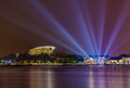Putrajaya malaysia night view of the administrative capital of Stock Photo