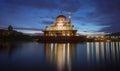 The Putrajaya Mosque, Malaysia Royalty Free Stock Photo