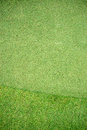 Putting green golf top view Royalty Free Stock Images
