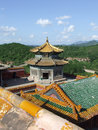 Putuo zongcheng temple in chengde the little potala palace china Royalty Free Stock Image