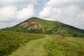 Puy pariou france dormant volcano in the auvergne Royalty Free Stock Photo
