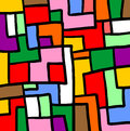 Puzzle color mosaic creative design of Royalty Free Stock Photo