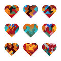 Puzzle Hearts Royalty Free Stock Image