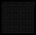 Puzzle jigsaw pattern Stock Photo