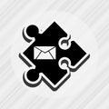 puzzle piece design Royalty Free Stock Photo