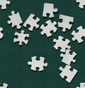 Puzzle piece wallpaper Stock Images