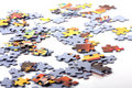 Puzzle pieces Royalty Free Stock Photo