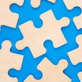 Puzzle Pieces Stock Images