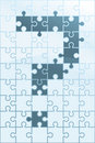 Puzzle Question Royalty Free Stock Image
