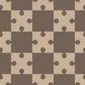 Puzzle, regular seamless pattern Royalty Free Stock Photo