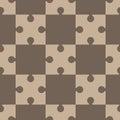 Puzzle, regular seamless pattern Royalty Free Stock Photo