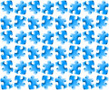 Puzzle seamless background Royalty Free Stock Photos