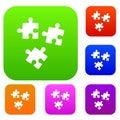 Puzzle set collection