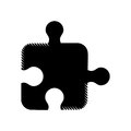 Puzzle strategy creativity abstract pictogram