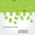 Puzzle vector design Royalty Free Stock Photos