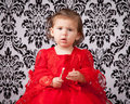 Puzzled child Royalty Free Stock Photos