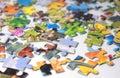 Puzzles Royalty Free Stock Photo