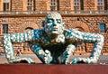 Puzzling Sculpture of Rabarama Royalty Free Stock Photo