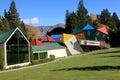 Puzzling World,New Zealand. Royalty Free Stock Photo