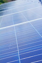 PV photovoltaic solar panel array Stock Photos