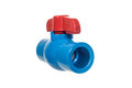 PVC ball valve Royalty Free Stock Photo