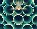 Pvc Tube Background Royalty Free Stock Photography