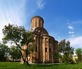Pyatnytska church in chernigov is a functioning chernigiv ukraine it was built at th century reproduce with great authenticity Royalty Free Stock Photos
