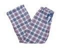 Pyjamas isolated on the white background Stock Photography