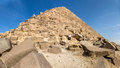 Pyramid of giza one the pyramids a famous tourist destination in egypt Royalty Free Stock Images