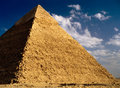 Pyramid of Khafre Stock Photo